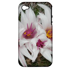 Bloom Cactus  Apple Iphone 4/4s Hardshell Case (pc+silicone) by ADIStyle