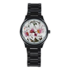 Bloom Cactus  Sport Metal Watch (black) by ADIStyle