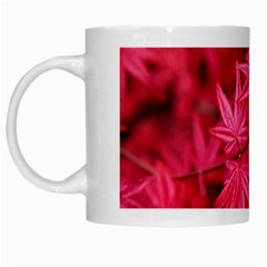 Red Autumn White Coffee Mug by ADIStyle