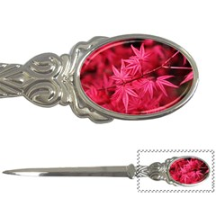 Red Autumn Letter Opener by ADIStyle