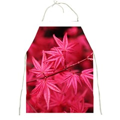 Red Autumn Apron by ADIStyle