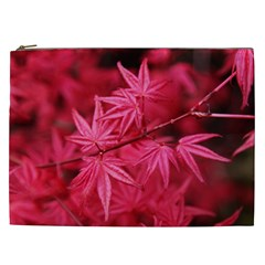 Red Autumn Cosmetic Bag (xxl) by ADIStyle
