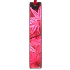 Red Autumn Large Bookmark by ADIStyle