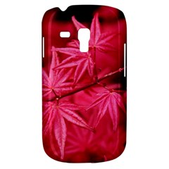 Red Autumn Samsung Galaxy S3 Mini I8190 Hardshell Case by ADIStyle