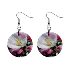 Apple Blossom  Mini Button Earrings by ADIStyle