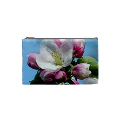 Apple Blossom  Cosmetic Bag (small) by ADIStyle