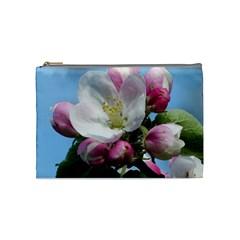 Apple Blossom  Cosmetic Bag (medium) by ADIStyle