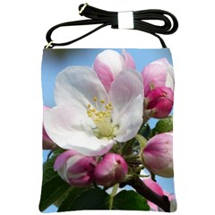 Apple Blossom  Shoulder Sling Bag by ADIStyle