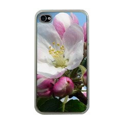 Apple Blossom  Apple Iphone 4 Case (clear) by ADIStyle