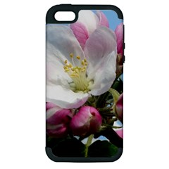 Apple Blossom  Apple Iphone 5 Hardshell Case (pc+silicone) by ADIStyle