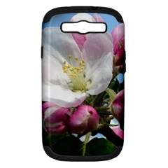 Apple Blossom  Samsung Galaxy S Iii Hardshell Case (pc+silicone) by ADIStyle