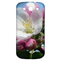 Apple Blossom  Samsung Galaxy S3 S Iii Classic Hardshell Back Case by ADIStyle