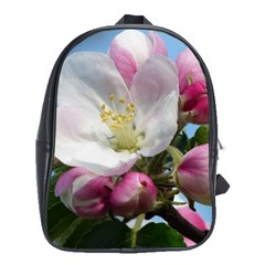 Apple Blossom  School Bag (xl) by ADIStyle
