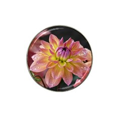 Dahlia Garden  Golf Ball Marker (for Hat Clip) by ADIStyle