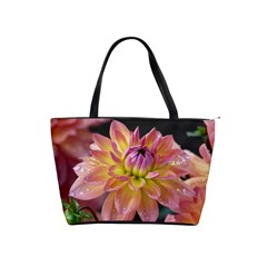 Dahlia Garden  Large Shoulder Bag by ADIStyle