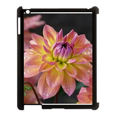 Dahlia Garden  Apple Ipad 3/4 Case (black) by ADIStyle