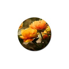 Flowers Butterfly Golf Ball Marker 4 Pack by ADIStyle