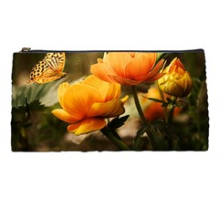 Flowers Butterfly Pencil Case by ADIStyle