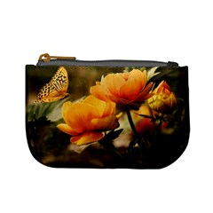 Flowers Butterfly Coin Change Purse by ADIStyle