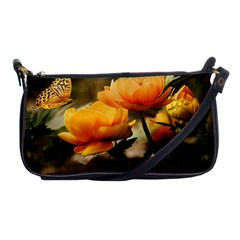 Flowers Butterfly Evening Bag by ADIStyle