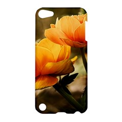 Flowers Butterfly Apple Ipod Touch 5 Hardshell Case by ADIStyle