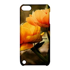 Flowers Butterfly Apple Ipod Touch 5 Hardshell Case With Stand by ADIStyle