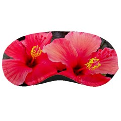 Red Hibiscus Sleeping Mask by ADIStyle