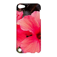 Red Hibiscus Apple Ipod Touch 5 Hardshell Case by ADIStyle