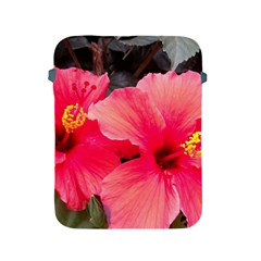 Red Hibiscus Apple Ipad 2/3/4 Protective Soft Case by ADIStyle