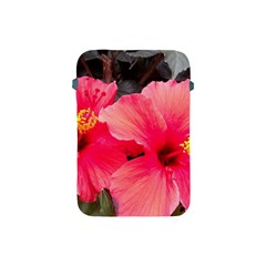 Red Hibiscus Apple Ipad Mini Protective Soft Case by ADIStyle