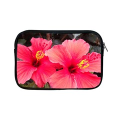 Red Hibiscus Apple Ipad Mini Zipper Case by ADIStyle