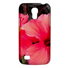 Red Hibiscus Samsung Galaxy S4 Mini Hardshell Case  by ADIStyle