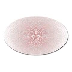 Elegant Damask Magnet (oval) by ADIStyle