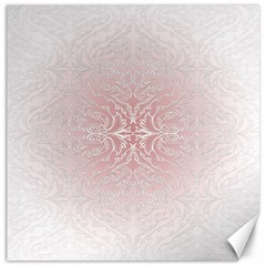 Elegant Damask Canvas 16  X 16  (unframed)