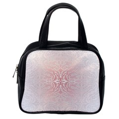 Elegant Damask Classic Handbag (one Side) by ADIStyle