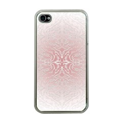 Elegant Damask Apple Iphone 4 Case (clear) by ADIStyle