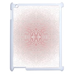 Elegant Damask Apple Ipad 2 Case (white) by ADIStyle