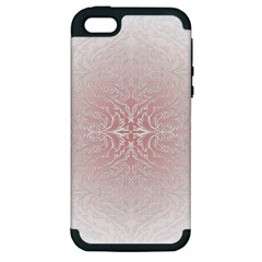 Elegant Damask Apple Iphone 5 Hardshell Case (pc+silicone) by ADIStyle