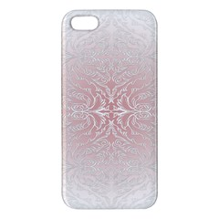 Elegant Damask Iphone 5 Premium Hardshell Case by ADIStyle