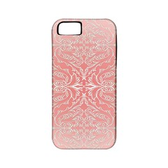 Pink Elegant Damask Apple Iphone 5 Classic Hardshell Case (pc+silicone) by ADIStyle