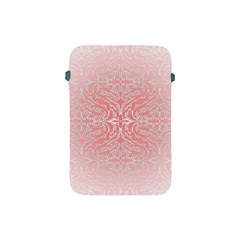 Pink Elegant Damask Apple Ipad Mini Protective Soft Case by ADIStyle