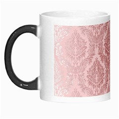 Luxury Pink Damask Morph Mug by ADIStyle