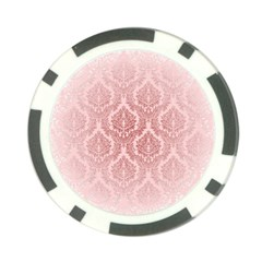 Luxury Pink Damask Poker Chip 10 Pack by ADIStyle