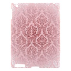 Luxury Pink Damask Apple Ipad 3/4 Hardshell Case by ADIStyle