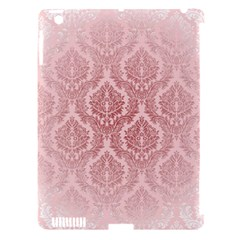 Luxury Pink Damask Apple Ipad 3/4 Hardshell Case (compatible With Smart Cover) by ADIStyle