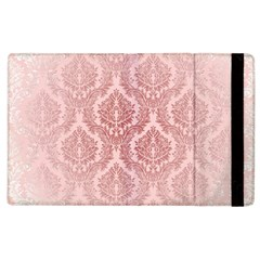 Luxury Pink Damask Apple Ipad 3/4 Flip Case by ADIStyle