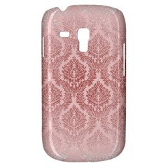 Luxury Pink Damask Samsung Galaxy S3 Mini I8190 Hardshell Case by ADIStyle