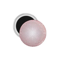 Pink Damask 1 75  Button Magnet by ADIStyle