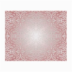 Pink Damask Glasses Cloth (small, Two Sided) by ADIStyle