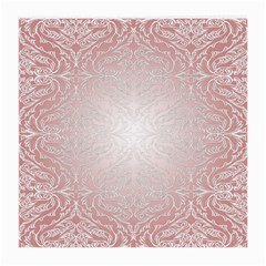 Pink Damask Glasses Cloth (medium, Two Sided) by ADIStyle